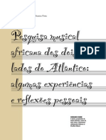 Pesquisa Musical Africana - Gerhard