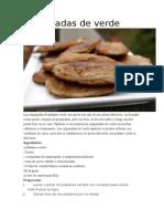 Empanadas de Platano Verde Fritas