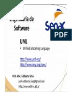Aula 03 - Engenharia de Software - UML