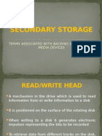 Secondary Storage Terminology 2005