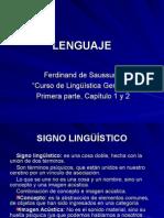 Lenguaje Saussure