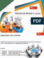 II. 3. Efectul de Brand in Cariera - Monica Rosu