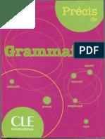Précis de Grammaire (A1-C1) [CLE]