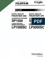 Fr350 Parts List