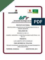 TESIS MANTENIMIENTO ELECTRICO, 2014