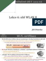 Počítačové sítě II, lekce 6