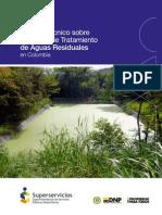 Informe Técnico Sobre Sistemas de Tratamiento de Aguas Residuales