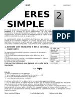 Matematica Financiera i Interes Simple