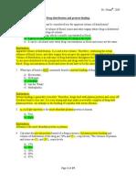 Pharmacokinetics Exm