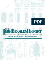 The Jere Beasley Report May 2004