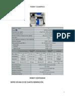 Caracteristicas Robot Cilindrico, Esferico y Cartesiano - Copia