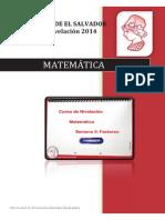 Material Semana 5 Matemática Factoreo Versión PDF