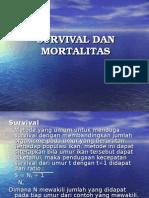 Survival Dan Mortalitas
