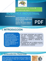 Robotica Industrial Unt
