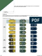 Hierarquia Militar FARM