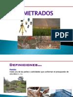 1.- METRADOS