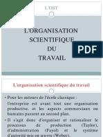 L Organisation Scientifique Du Travail-L OST-010211