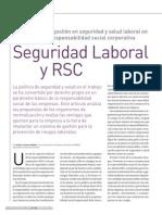 Seguridad Laboral y La Responsabilidad Social Corporativa