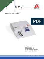 Manual Usuario Urilyzer 100 Español
