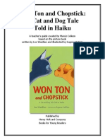 Won Ton and Chopstick - Teacher's Guide by Marcie Colleen
