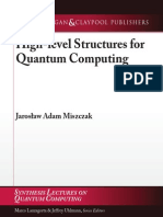 High-level Structures for Quantum Computing