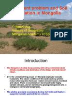 Environemnt Soil Erosion in Mongolia