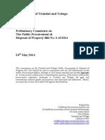 CPI Review Public Procurement Bill 2014