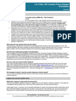 Vacation Policy U.S. FAQs 7-8-14
