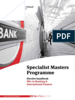 Banking and International Finance