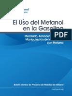 El Uso Del Metanol en La Gasolina