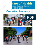 Houston and Harris County State of Health Executive Summary 2015-2016