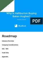 Why Is Haliburton Buying Baker-Hughes?