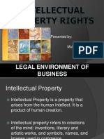 presentation on Intellectual Property rights