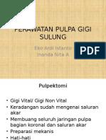 Perawatan Pulpa Gigi Sulung