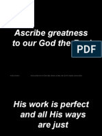 Ascribe Greatness