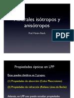 Anisotropia-isotropia