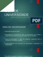 Ideia de Universidade