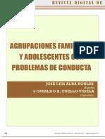 Agrupaciones Familiares y Adodlescentes Con Problemas de Conducta