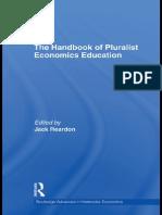 The Handbook of Pluralist Economic Education
