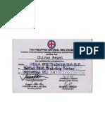 Red Cross Cert