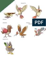 Pokemones Tipo Volador
