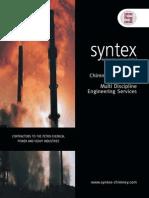 Syntex Engineering Services Ltd Brochure