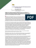 INSTALACIÓN DE CARTELES EN FACHADA POR INQUILINO SIN AUTORIZACIÓN