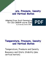 Density Pressure Wind