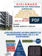 Regla.Inscrip.R.P.J.No Societarias.ppt