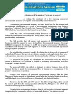 mar05.2015 bMandatory Environmental Insurance Coverage proposed