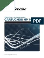 Reset Cartuchos Hp 74 75