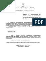 Calendário - UFAL