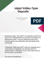 Mississippi Valley type Deposit