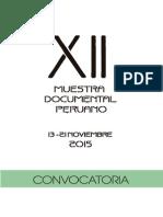 Bases XII Muestra Documental 2015